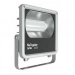 Прожектор светодиодный 50Вт IP65 4000К серый Navigator 71318
