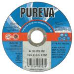 Круг отрезной 125* 2,5*22 по металлу PUREVA