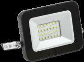 Прожектор светодиодный 20Вт IP65 6500К черный ИЭК LDPO601-20-65-K02
