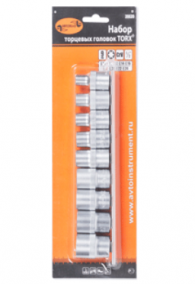 Набор головок TORX E10-E24  АвтоДело
