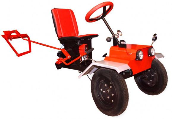 Адаптер передний к МБ без фар с колесами (коробка)