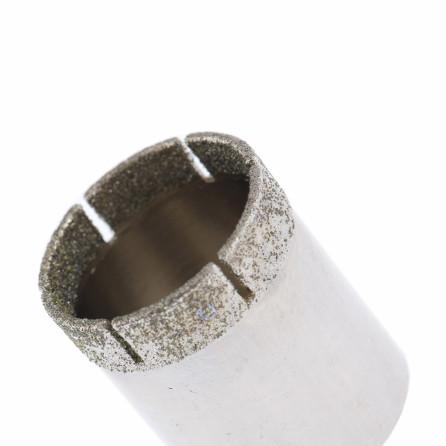 Коронка алмазная п/кафелю , 30х55 цилиндр. хвостовик Сибртех